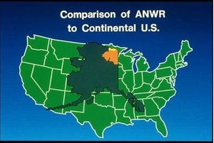 Figure 1This is the size of Alaska compared to the U.S.A.