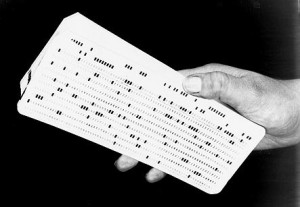 Data Punch Card (Tab Card)